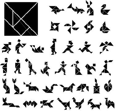 Imagens de tangram