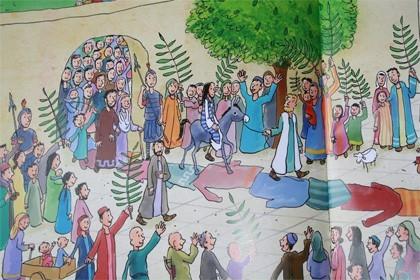 Bij Jezus in de buurt, Palmzondag
