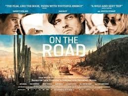on the road, filmposter